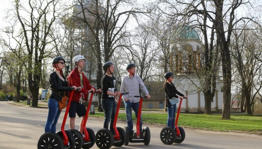 Prague Monastic Breweries Segway Tour